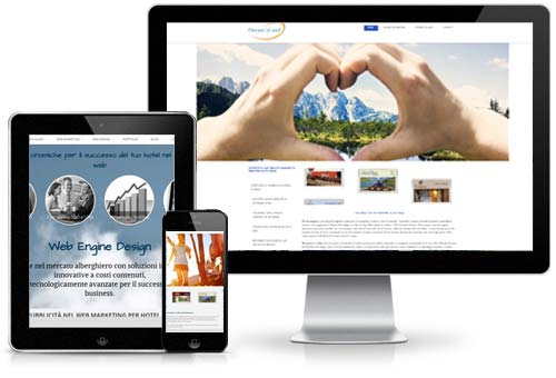 touristic portals and web marketing for hotel and accommodation